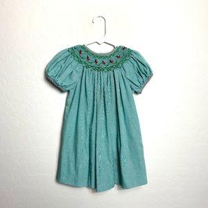 Smocked Ladybug Summer Dress 24M Baby Toddler